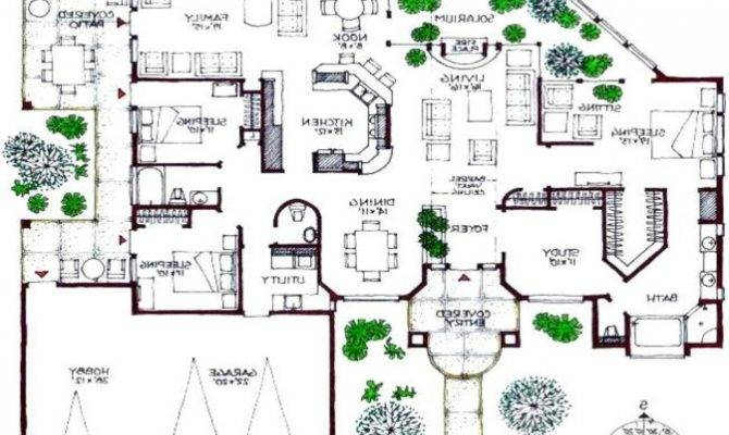 Modern House Floor Plans There More Ultra