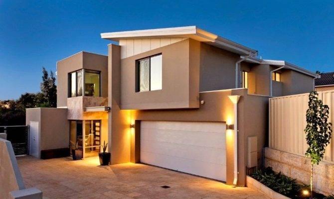 Modern House Front Elevation