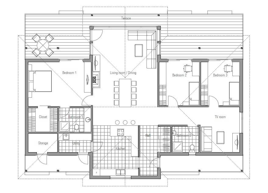 Modern House Plans Shaped