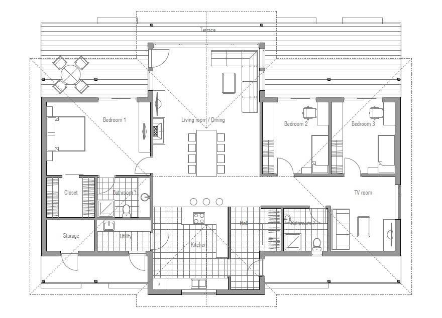 Modern House Plans Shaped