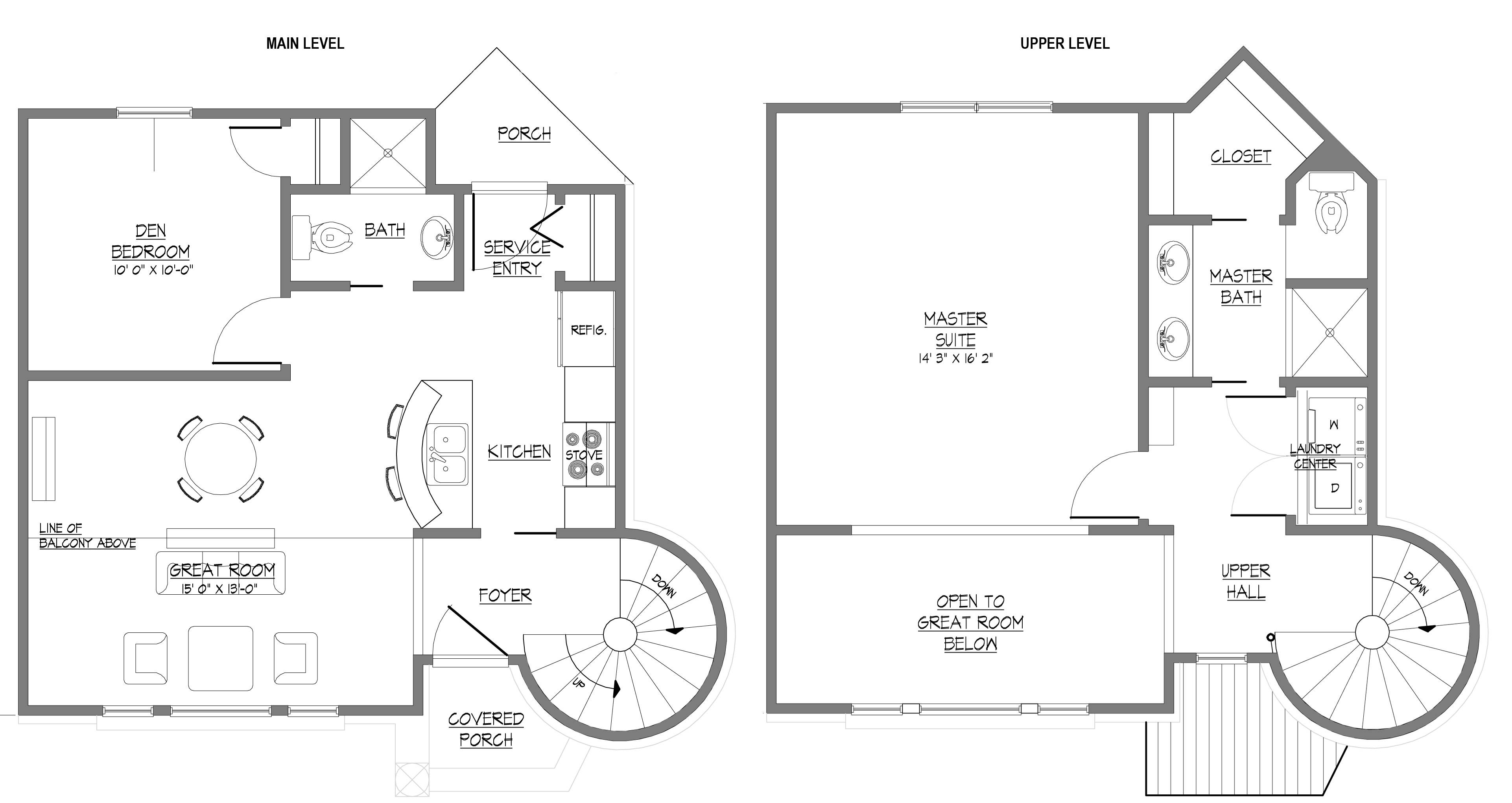 Modern House Plans Two Story