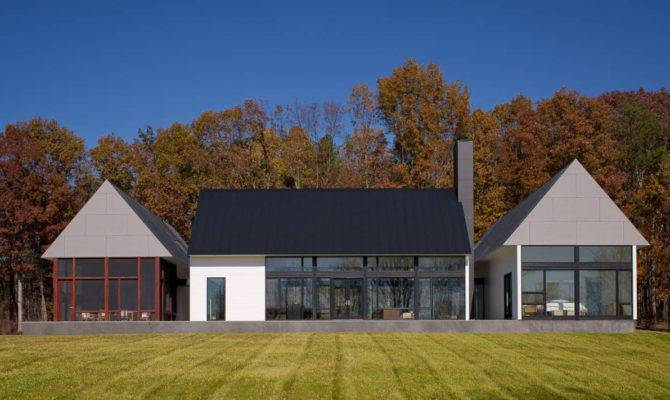 Modern House Virginia Countryside Idesignarch