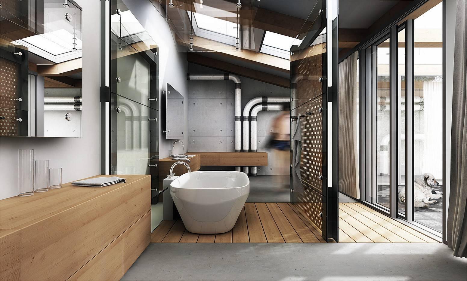 Modern Industrial Style Interior Design
