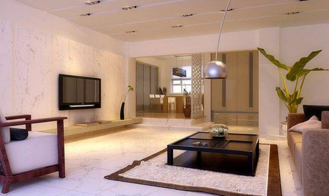 Modern Interior Designs Marble Flooring Ideas Home Decor