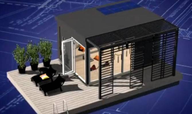 Modern Kenjo Cabin Solar Powered Floating Room