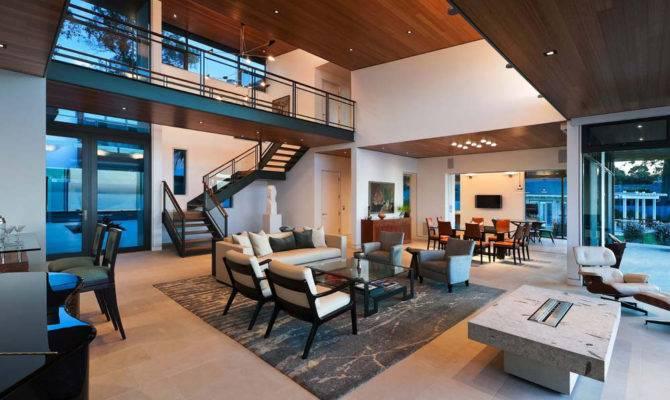 Modern Living Room Open Plan House Interior Design Ideas