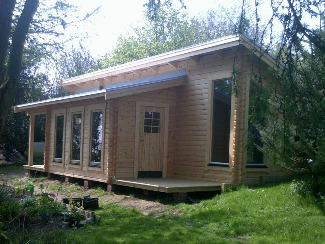 Modern Log Cabin Homes Designs Contemporary