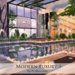 Modern Luxury House Pralinesims Tsr Sims Updates