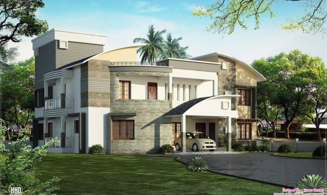 Modern Luxury Villa Design House Plans