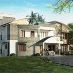 Modern Luxury Villa Design Kerala Home Floor Plans