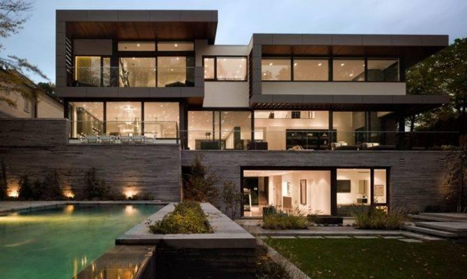 Modern Mansion Toronto Belzberg Architects Group