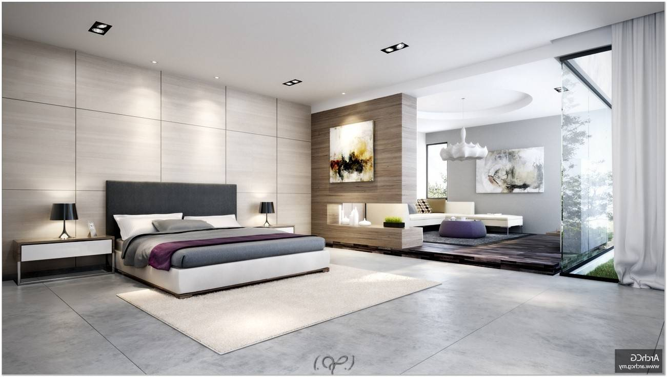 Modern Master Bedroom Bathroom Designs Home Design
