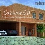 Modern Mud Double Floor Home Design