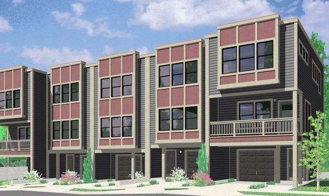 Modern Multi House Plans Escortsea