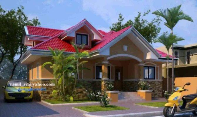 Modern One Storey House Design Philippines Youtube