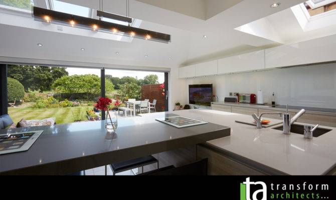 Modern Open Plan Kitchen Transform Architects House