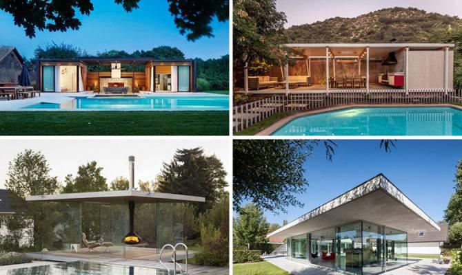 Modern Pool Houses Get Inspired Summer