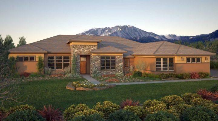 Modern Prairie House Designs Houses