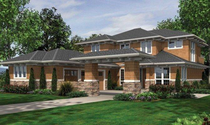 Modern Prairie House Plans New Style Home