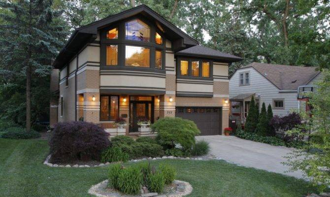 Modern Prairie Style House Plans Ideas