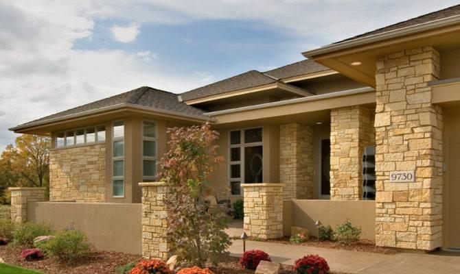 Modern Prairie Style House Plans