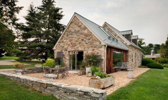 Modern Reinterpretation Private Rural House Pennsylvania