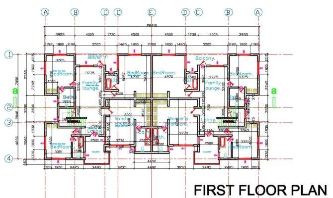Modern Semi Detached House Plans Best