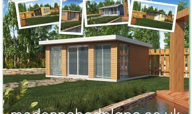 Modern Shed Plans Build Your Own Our Contemporary