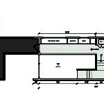 Modern Shotgun House Floor Plan Second