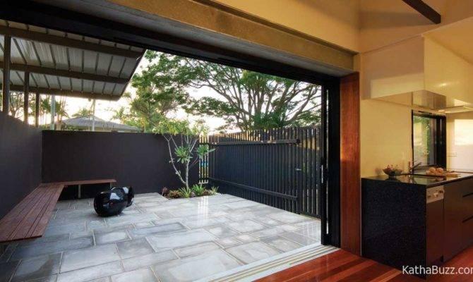 Modern Simple Home Designs Courtyard Porch Kathabuzz