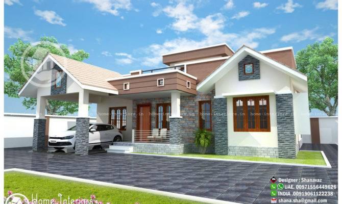 Modern Single Floor Home Design