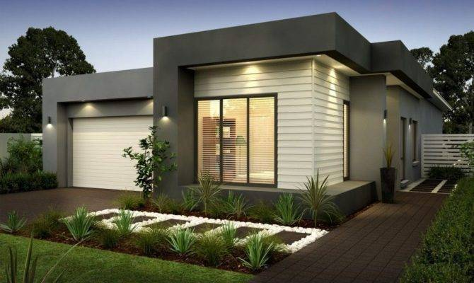 Modern Single Storey House Ideas Open Floor Plan