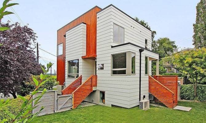 Modern Small Block House Architecture Decoration Design Pinterest