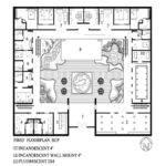 Modern Small House Plans Courtyard Lrg