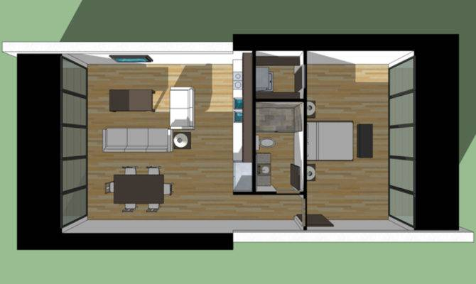 Modern Style House Plan Beds Baths Floor