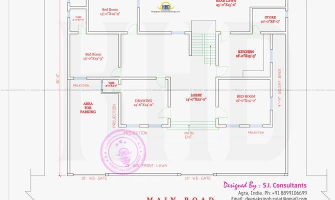Modern Style India House Plan Kerala Home Design Floor Plans