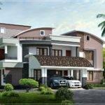 Modern Style Luxury Villa Exterior Design House Plans