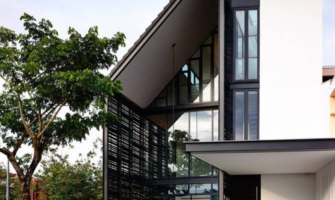 Modern Terrace House Design Renovated