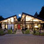 Modern Timber Framed Minimalist Bungalow House