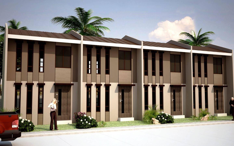 Modern Townhouse Design Buzzerg