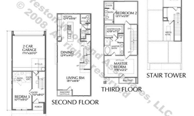 Modern Townhouse Designs Floor Plans Amazing Decors