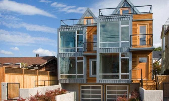 Modern Townhouse Seattle Idesignarch Interior