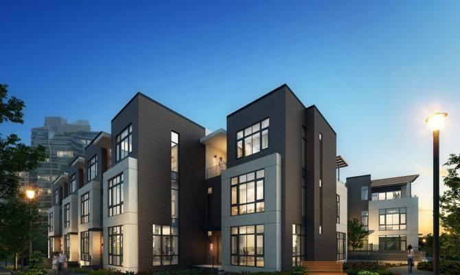 Modern Townhouses Plans Joy Studio Design Best