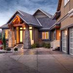 Modern Traditional Custom Home Design Bearspaw Step