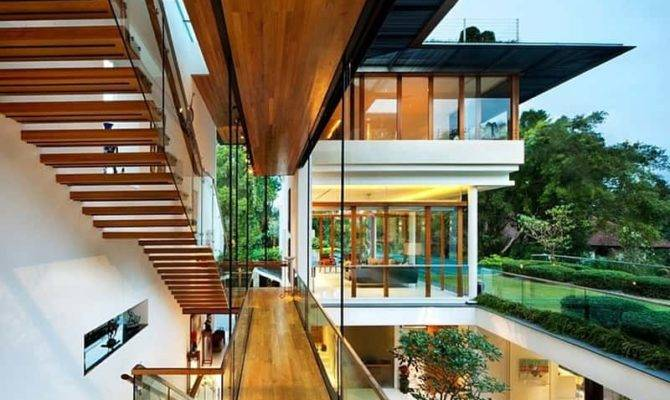 Modern Tropical Bungalow Dalvey Road House Guz
