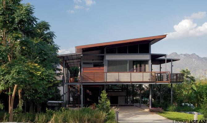 Modern Tropical House Living Asean