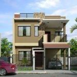 Modern Two Storey House Plans Lesmursinfo One Design