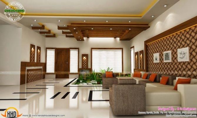 Modern Unique Dining Kitchen Interior Kerala Home