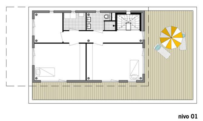 Modern Villa Den Haag Designed Bbvh Architecten Floor Plan