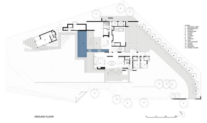 Modern Villa Ground Floor Plan